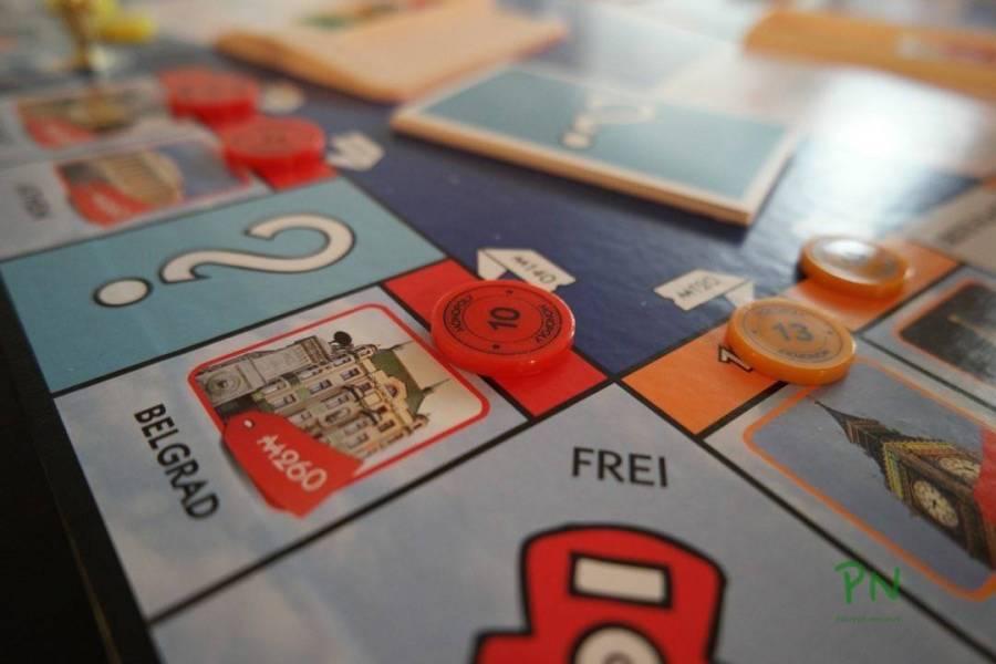 Monopoly Welt von Hasbro
