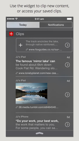 Clips - Copy and paste anywhere with widget and keyboard
