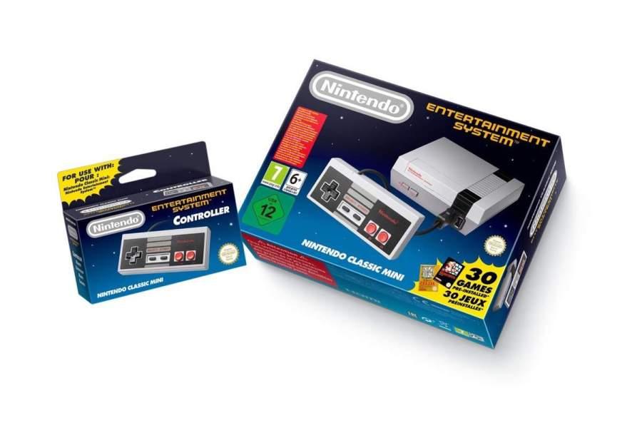 Nintenod Mini NES ab Oktober im Handel