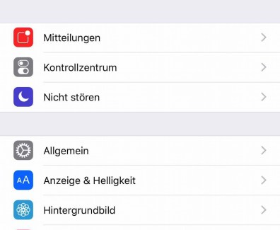 Tutorial – iPhone Fitnessdaten