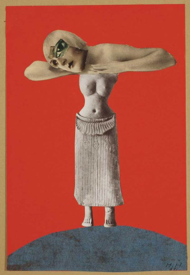 Untitled [From an Ethnographic Museum] by Hannah Hoch