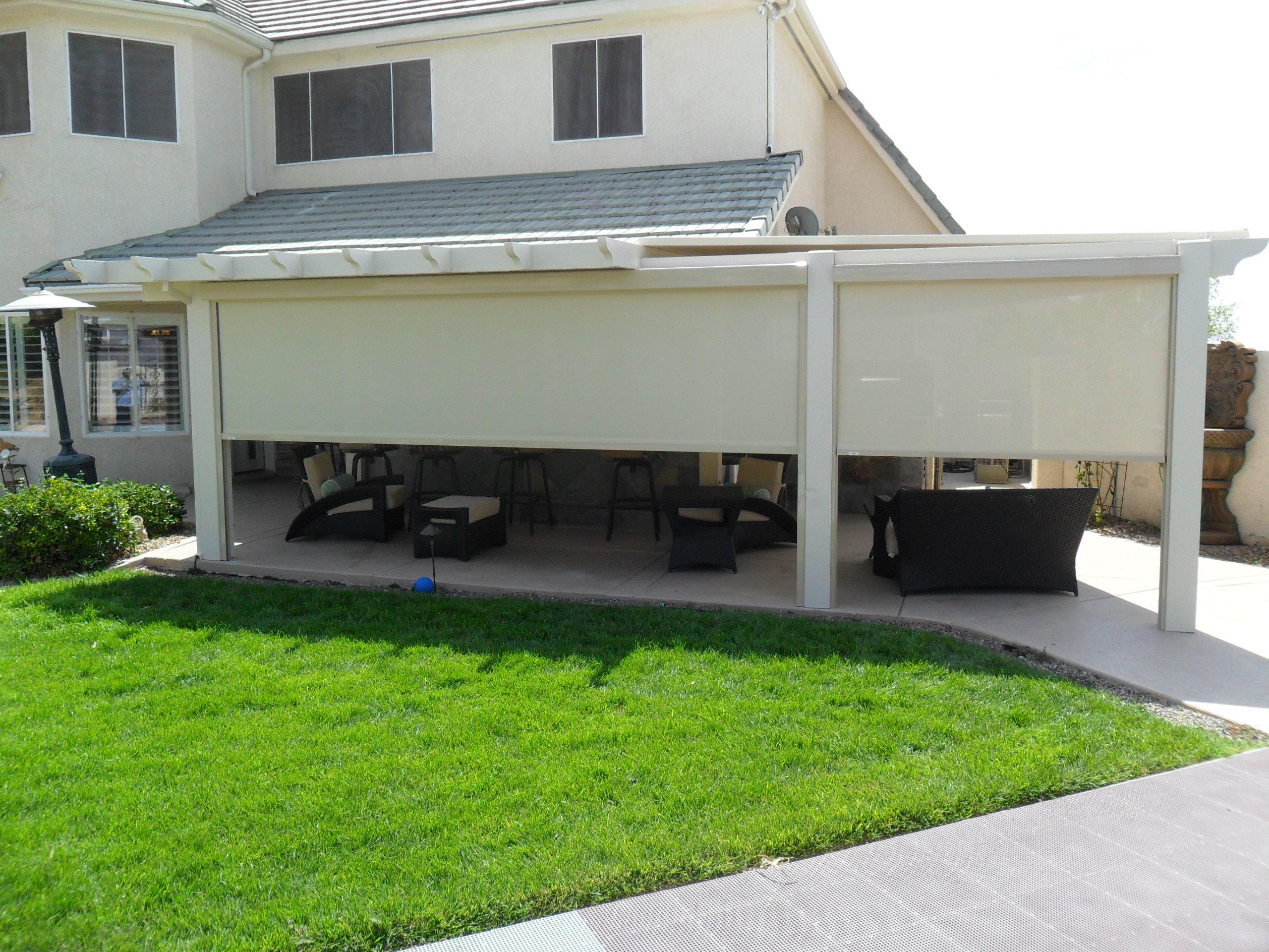 Outdoor Retractable Shades Home Shades