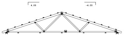 4/12 Roof Truss Design Gable Roof Truss Calculator | Using Rafters or Trusses