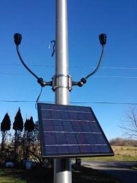 Solar Flagpole Lighting - Solar Landscape Lights | PolePalUSA