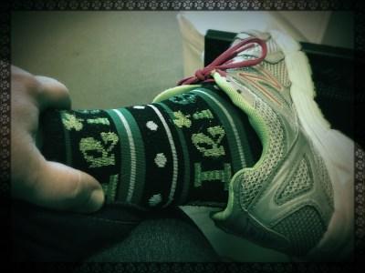 """My """"I'm Irish!"""" socks"""