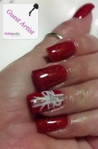 Christmas Present Nail Design | Polishpedia: Nail Art ...