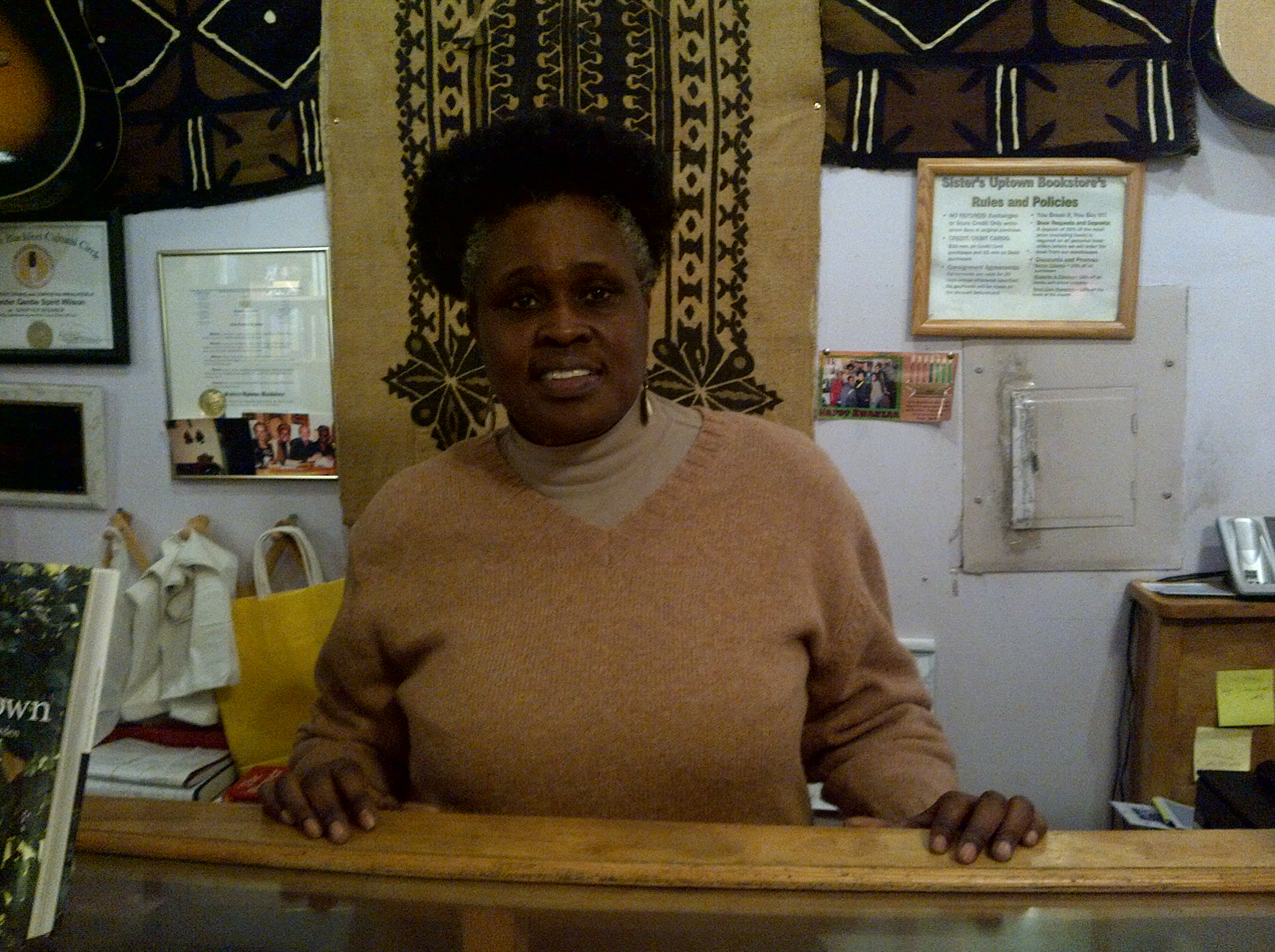 Janifer Wilson- Owner of Sisters Uptown Bookstore and Cultural Center