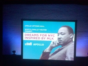 Apollo Hosts Uptown Hall About Legacy of MLK