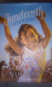 Book about Juneteenth available for young readers