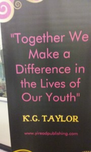 K.G. Taylor quote