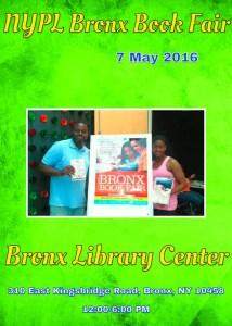 Meet Marc and Taneeka at the Bronx Book Fair 2016!