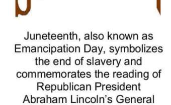 Happy Father's Day/Happy Juneteenth!