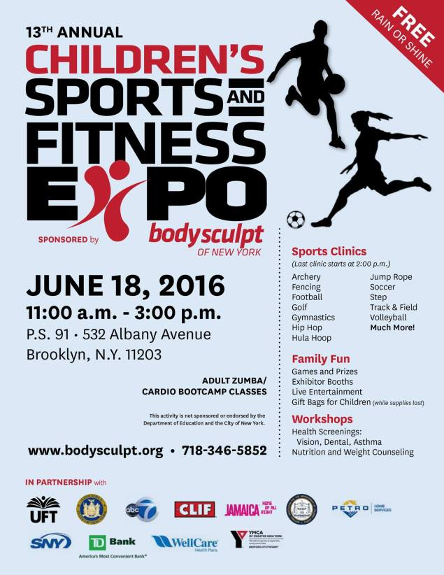 June 18th Children's Sports and Fitness Expo