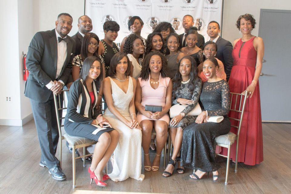 NABA Board with Scholarship recipients, NABA Gala 2016