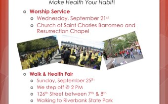 Communities of Harlem Health Revival- Sept. 25th!