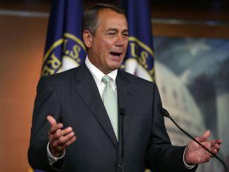 House Speaker Boehner Holds Weekly News Conference