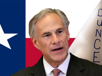 """Texas Attorney General Greg Abbott makes a statement during a news conference, Monday, Nov. 4, 2013, in Dallas. Abbott announced his office is suing the federal Equal Employment Opportunity Commission over what he says is """"bullying"""" of Texas companies over the hiring of felons. The lawsuit is the 30th filed by Abbott's office against the administration of President Barack Obama. (AP Photo/Tony Gutierrez)"""