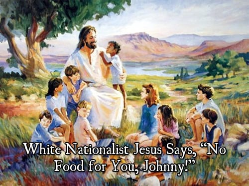 White Nationalist Jesus