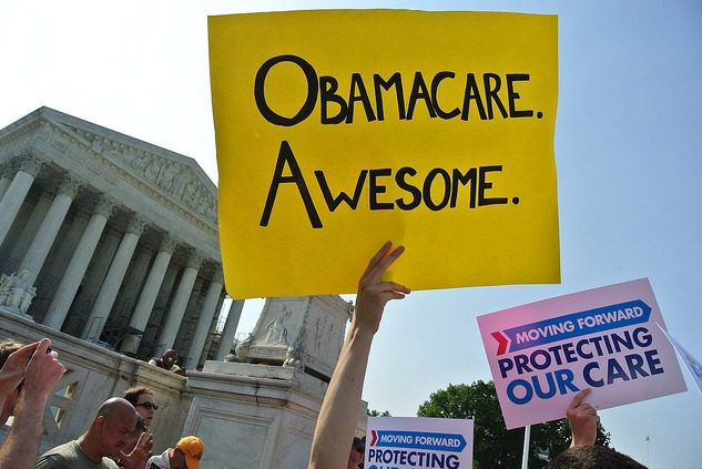 obamacare is awesome/   [CC image credit: Will O'Neill | Flickr.]