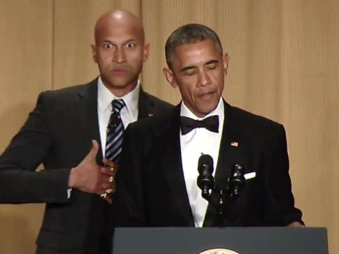 Obama Luther Anger Translator White House Correspondents Dinner