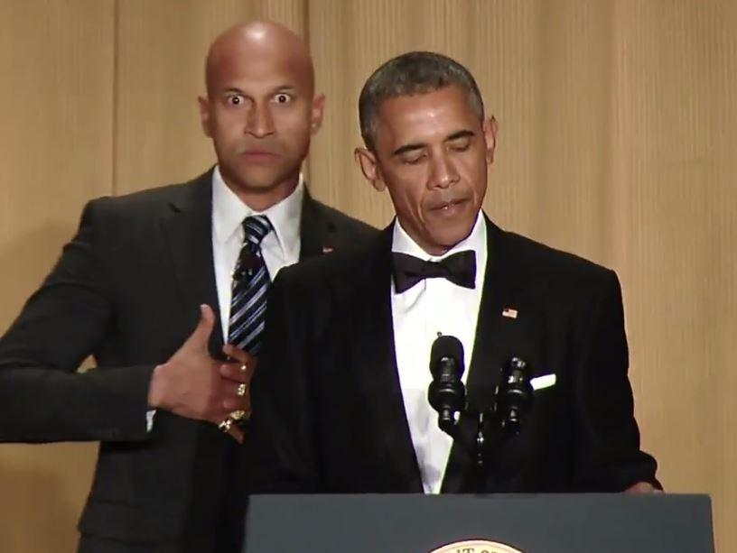 Obama Luther Anger Translator White House Correspondents Dinner