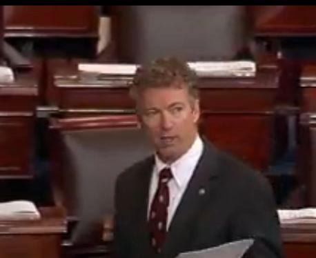 rand paul fake patriot act filibuster