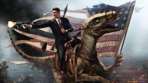 Reagan-velociraptor