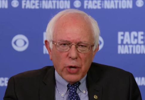 bernie sanders face the nation