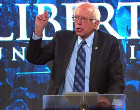 Sanders Appeals to Conservatives