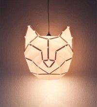 MostLikely Animal Foldable Paper Lamps - Polkadot