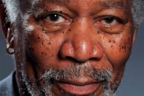 Incredibile ritratto di Morgan Freeman fatto con l'iPad