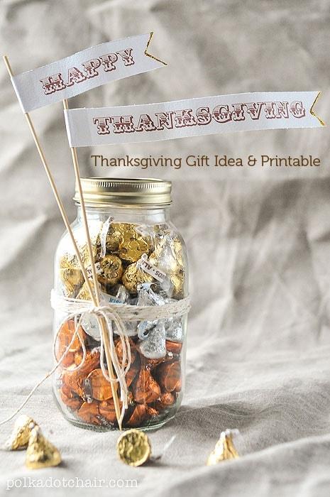 Thanksgiving Gift Ideas  Free Thanksgiving Printable