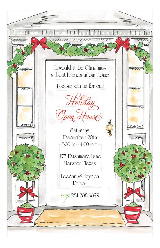 holiday open house invites - Onwebioinnovate