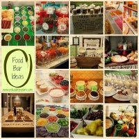 Food Bar Ideas