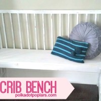 DIY Crib Bench