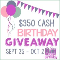 $350 Birthday Giveaway