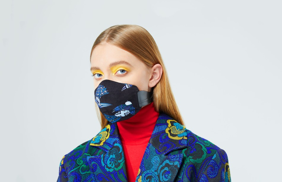 Designer Karen Walker Creates Fashion Air Pollution Masks - Best Air