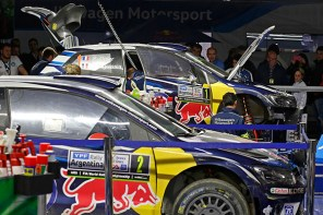 2016 Volkswagen Polo R WRC, Rally Argentina: Service