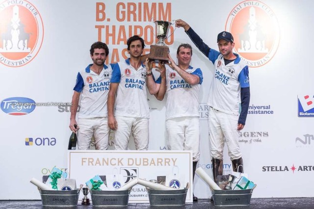 B. Grimm Thai Polo Master Final