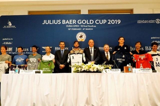 Julius Baer Gold Cup Draw