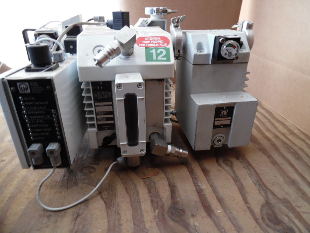 Leybold D16BCS Vacuum Pump with N2 Purge, CFS16/25, and Exhaust Mist Filter