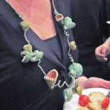 Leslie Blackford's Feed Me necklace