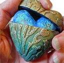 Tejae Floyde's encased polymer hearts