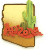 Arizona from a Paula Pindroh illustration