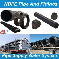 pe pipe fittings/hdpe pipe sizes/poly pipe/pe hd rohre ...