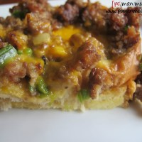 maple sausage breakfast casserole