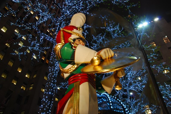 Toy Soldiers at the Rockerfeller Center at Christmas time