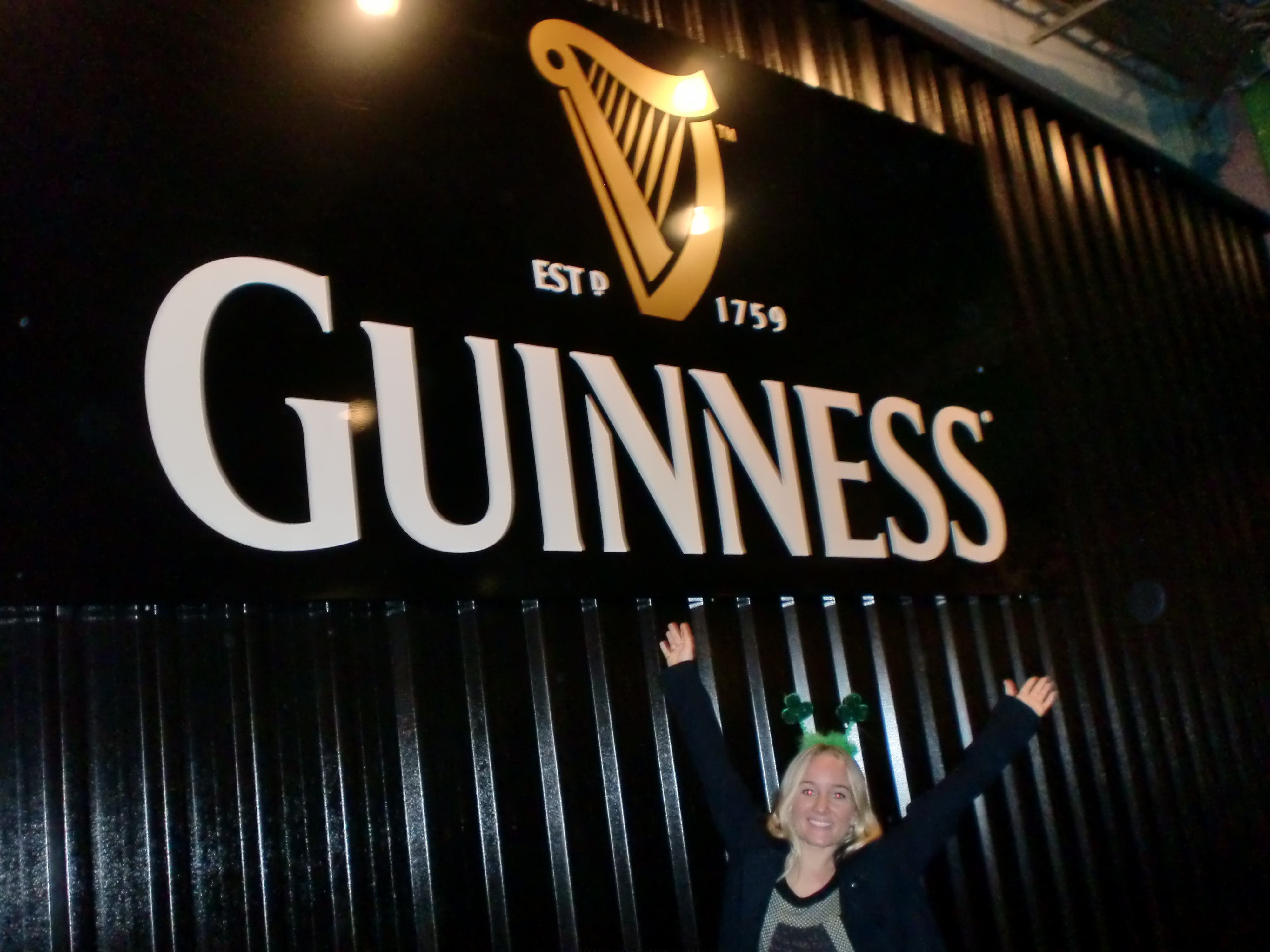 Me at the Guinness Storehouse