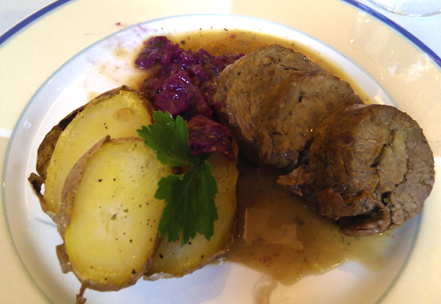Zrazy Beef Rolls in Poland
