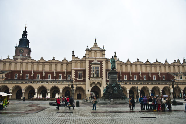The Cloth Hall in Krakow, Poland